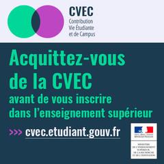 be049f27b22 La Contribution vie étudiante et de campus (C.V.E.C.) est instituée par la  loi « Orientation et réussite des étudiants ». Elle est collectée par les  CROUS.