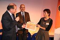 Françoise HEILMANN-PASCAL pour le Prix du Parcours femme entreprise