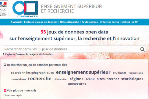 La plateforme open data du Ministère fait peau neuve