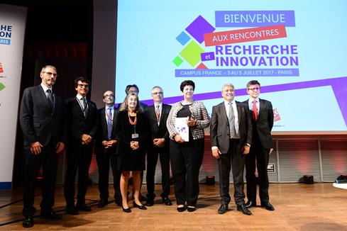 Ouverture des rencontres de la Recherche et de l'Innovation de Campus France