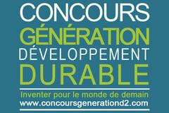 Concours Génération Développement Durable