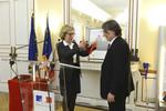 Remise du grade de commandeur de la Légion d'honneur à Pierre-Louis Lions