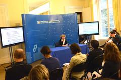Conférence de presse sur la rentrée étudiante