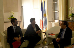 Rencontre avec ministre ESR argentin