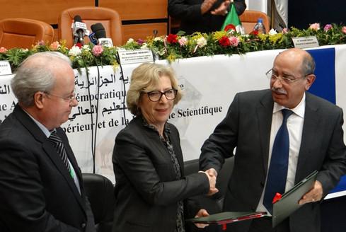 Conférence franco-algérienne de l'enseignement supérieur et de la recherche