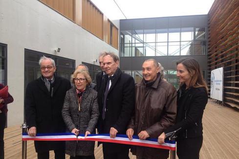 Campus de Marseille-Luminy: inauguration du Technosport et d'Oceanomed