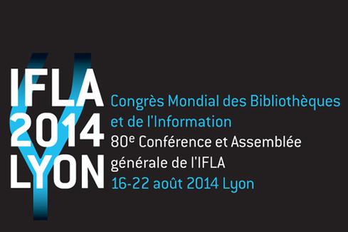 Congrès de l'IFLA 2014 à Lyon