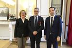 Remise de la Légion d'Honneur à Ali Saïb, Recteur de l'académie d'Aix Marseille
