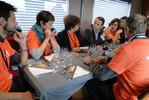 Train du climat : Thierry Mandon rencontre les chercheurs à l'étape de Dunkerque