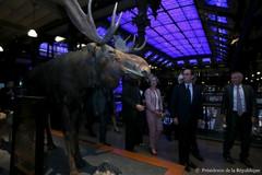 Inauguration des 20 ans de la Grande galerie de l'Evolution