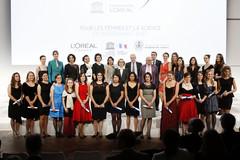 Remise des bourses L'Oréal - Unesco