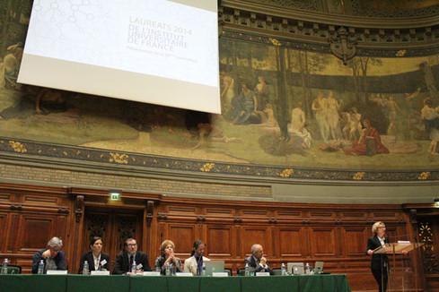 Réception des nouveaux membres de l'Institut Universitaire de France