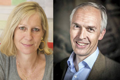 Anne Dejean-Assémat et Hugues de Thé, lauréats du Prix Sjöberg 2018