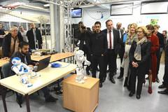 Visite de l'Institut des systèmes intelligents et de robotique (ISIR)