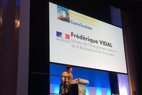 Convention annuelle de l'Académie des technologies: discours de clôture de Frédérique Vidal
