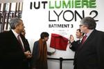 Inauguration de nouvelles infrastructures universitaires à Lyon