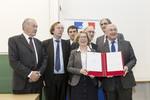 Signature du protocole pour l'insertion professionnelle des jeunes issus de l'enseignement supérieur