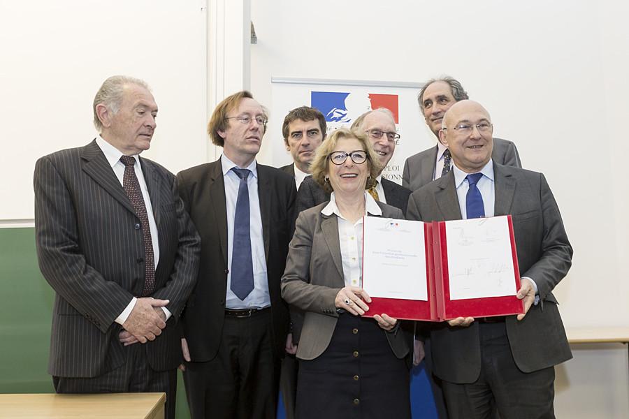 Signature du protocole pour l'insertion professionnelle des étudiants