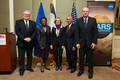 Signature de quatre accords franco-américains scientifiques et universitaires