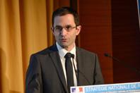 Benoît Hamon au colloque S.N.R.