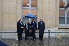 Hommage aux victimes des attentats du janvier à Paris