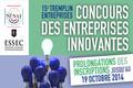 Tremplin Entreprises 2014 - inscriptions jusqu'au 12 octobre