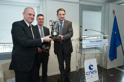 Visite de la Direction des Lanceurs du CNES et présentation des programmes Ariane 6 et Vega-C
