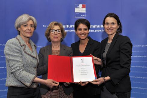Signature de la Charte Universcience pour l'égalité entre femmes et hommes