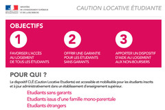 CLE : Caution Locative Etudiante