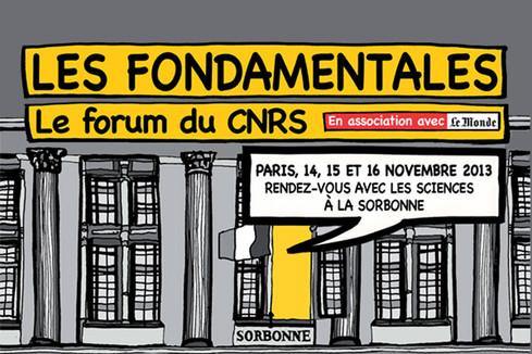 Participer au forum du C.N.R.S. : Les fondamentales
