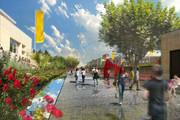 Aix Quartier des Facultés, création de l'Allée aux Roses