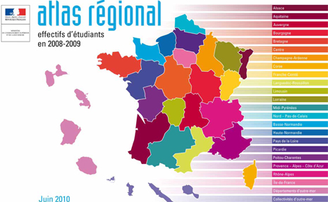 couverture Atlas national 2008-2009
