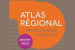 Atlas régional : les effectifs d'étudiants en 2010-2011 - édition 2012