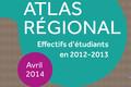 Atlas régional : les effectifs d'étudiants en 2012-2013 - édition 2014