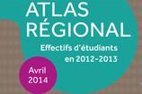 Atlas régional : les effectifs étudiants 2013-2014