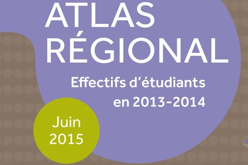 Atlas régional : les effectifs d'étudiants en 2013-2014 - édition 2015