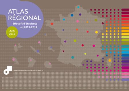 Atlas régional: effectifs d'étudiants en 2013-2014 (Complet) - PDF - 68859.11Ko (nouvelle fenêtre)