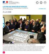 Lettre d'information Geneviève Fioraso