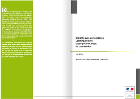 Bibliothèques universitaires - Guide pour un projet de