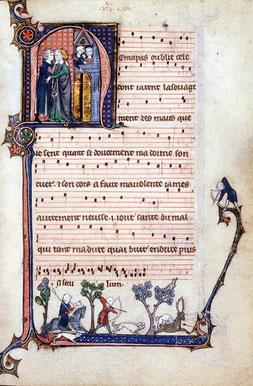 Chansonnier de Montpellier - fin du 13ème siècle