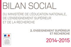 Bilan social ESR - 2014-2015
