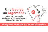 Dossier social étudiant 2017-2018 : la procédure unique de demande de bourse et de logement