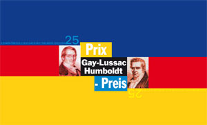 Affiche Prix scientifique Gay-Lussac-Humboldt 2008