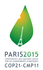 Logo COP21 avec sigle en français en couleur