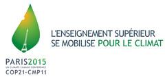 """Logo """"L'Enseignement supérieur se mobilise"""" développé en 2 lignes jpg"""