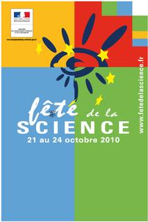 Fête de la science, affiche 2010 jpg