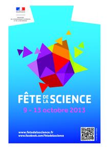 Affiche de la fête de la science 2012