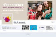 Écran Facebook Fête de la science