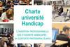 Charte université Handicap - L'insertion professionnelle des étudiants handicapés : un contexte partenarial élargi