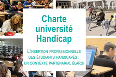 Charte UniversitéHandicap - L'insertion professionnelle des étudiants handicapés